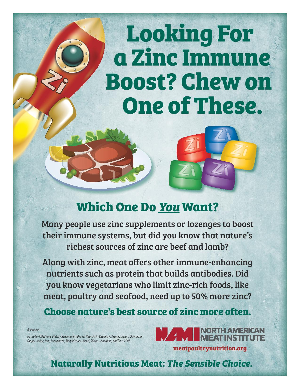 Looking For a Zinc Immune Boost?